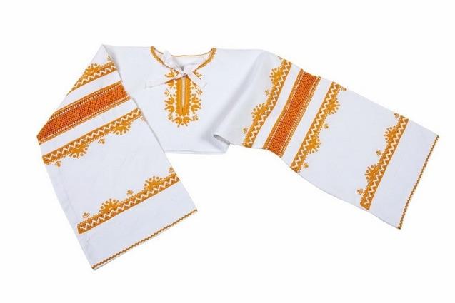 73f9708dc Košeľa ručne vyšívaná – starodávny vzor – šedá výšivka. 180.00€ Viac info · Detvianska  košeľa krátka