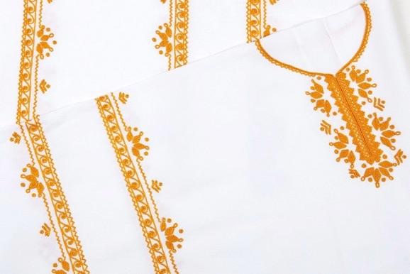 Detvianska košeľa krátka - jednoduchá