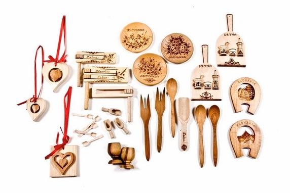 Rôzne drevené výrobky